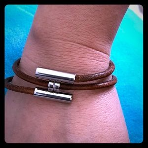 ❤️👀✅💯HERMES LEATHER BRACELET❤️🛍🛒